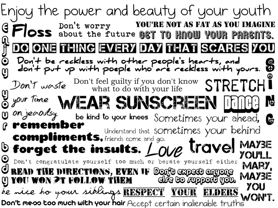 everyone is free to wear sunscreen